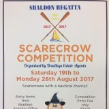 NAUTICAL SCARECROW COMPETITION !