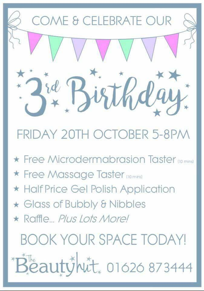 3rd Birthday Party At The BEAUTY HUT