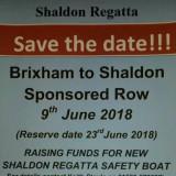 Sponsored row- Brixham to Shaldon 2018