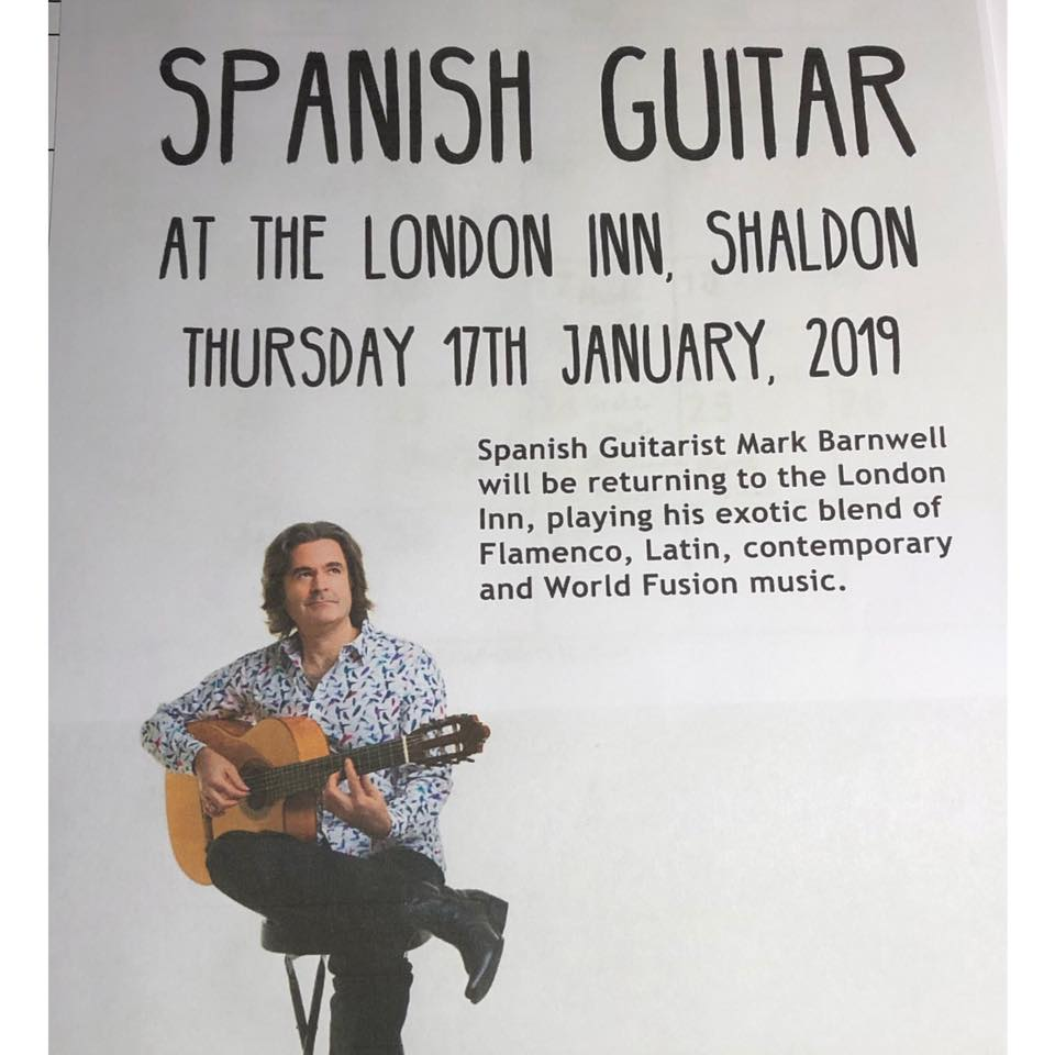 Spanish Guitar at the London Inn