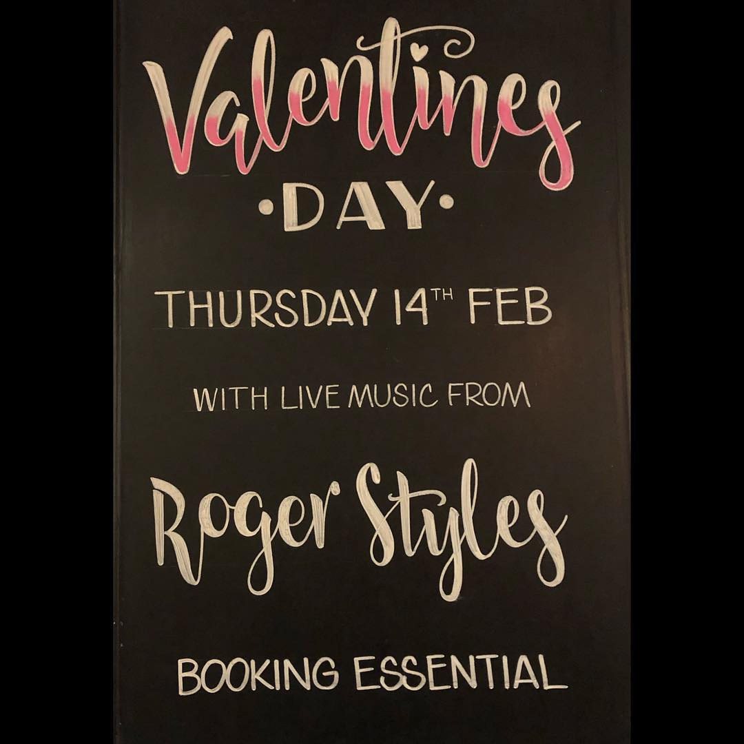 Valentines dinner at the London Inn with ROger styles