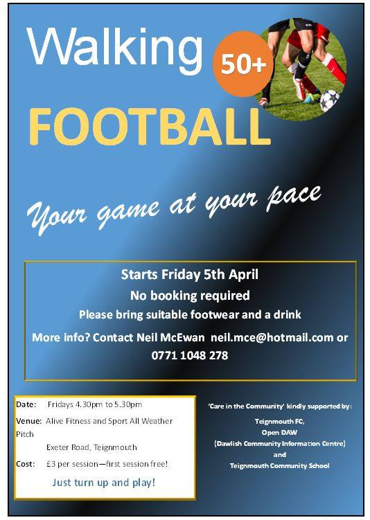 WALKING FOOTBALL - every Friday