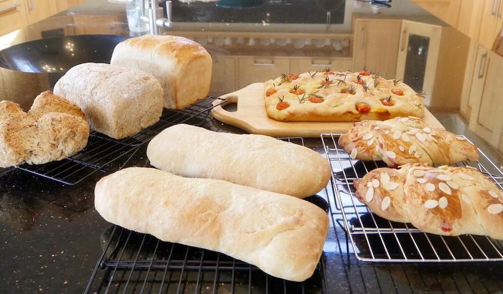 Bread making workshop 15/6/2019