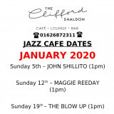 The CLIFFORD  -live Jazz for January