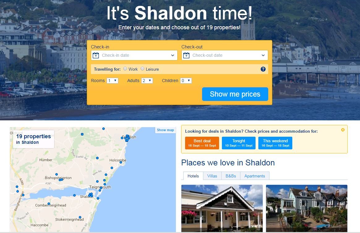 Cheao Shaldon Hotels