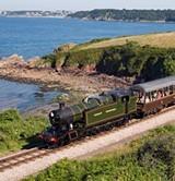 train at broadsands