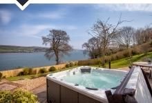 Bywater is a 5 bed river side rental in Shaldon