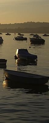 River Teign evening