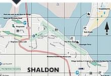 Map of Shaldon